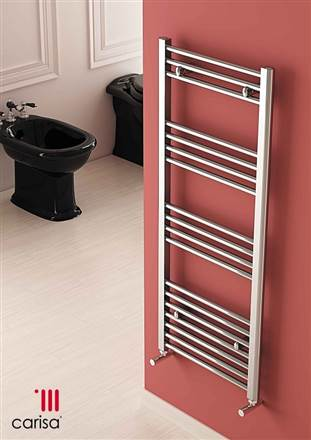 Carisa Nile Chrome Towel Rail