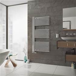 Eucotherm Ceres Chrome Towel Rail
