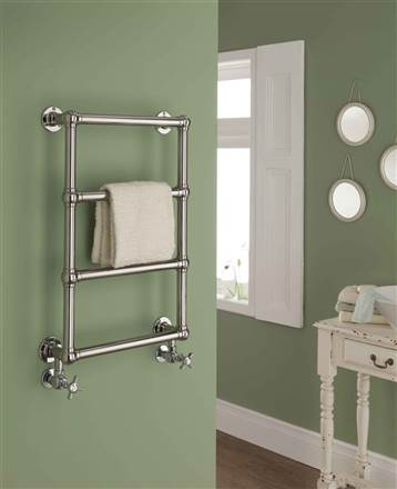 The Radiator Company Chalfont Wall Mounted Traditional Heated Towel Rail