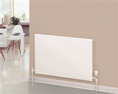 Warmrooms Carat Type 11 Horizontal Flat Panel Radiators - Single