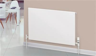 Warmrooms Carat Type 22 Horizontal Flat Panel Radiators - Double