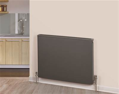 Warmrooms Volcanic Horizontal Radiator - Type 20 Double Panel