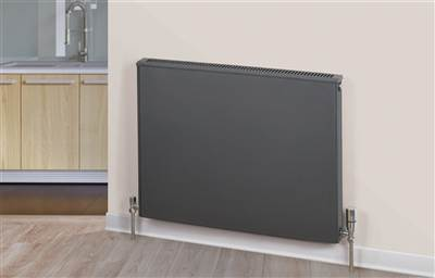 Warmrooms Volcanic Horizontal Radiator - Type 22 Double Panel Double Convector