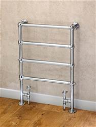 Supplies 4 Heat Cleves Wall and Floor Mounted Traditional Towel Rail