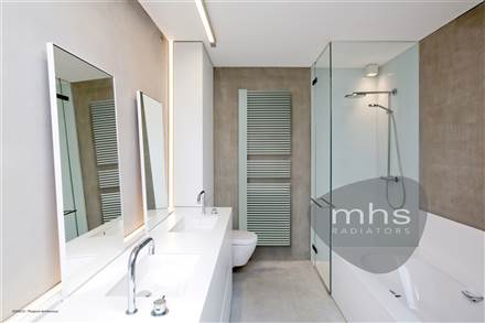 MHS Cocos Plus White Designer Towel Rail