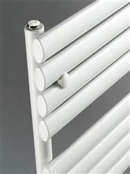 DQ Double Quick Cove Electric Towel Rail