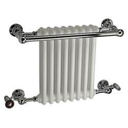 DQ Double Quick Ashill Traditional Wall Mounted Towel Rail