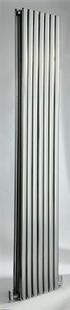 DQ Double Quick Cove Double Vertical Stainless Steel Radiator