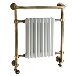 DQ Double Quick Croxton Traditional Wall Mounted Towel Rail