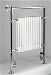DQ Double Quick Lynford Traditional Floor Mounted Towel Rail