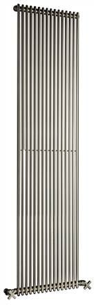 DQ Double Quick MKV16 Single Chrome Horizontal Radiator