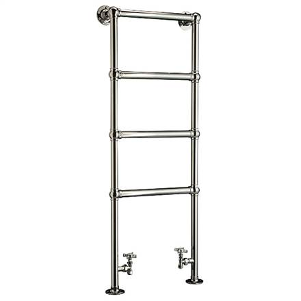 DQ Double Quick Methwold Traditional Floor Mounted Towel Rail