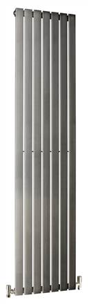 DQ Double Quick Delta Horizontal Stainless Steel Radiator