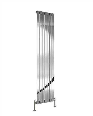 DQ Double Quick Delta Vertical Stainless Steel Radiator