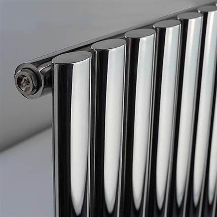 DQ Double Quick Cove Single Vertical Stainless Steel Radiator
