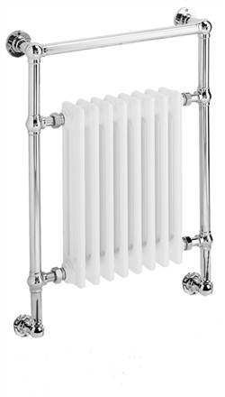 DQ Double Quick Lynford Traditional Wall Mounted Towel Rail
