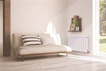 MHS Decoral Slim Horizontal Aluminium Radiator