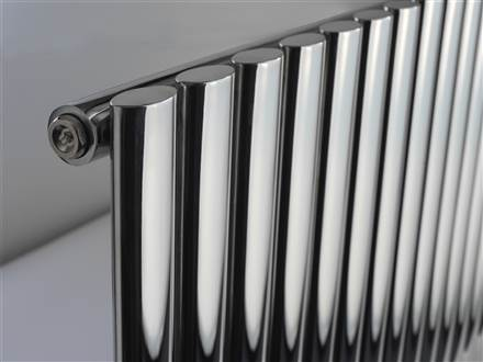 DQ Double Quick Cove Single Horizontal Stainless Steel Radiator