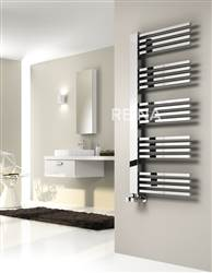 Reina Dexi Designer Chrome Heated Towel Rail