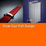 Bisque Vertical Aluminium Radiators