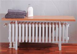 Zehnder Charleston Relax Column Bench Radiator