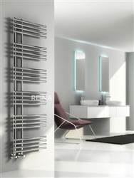 Reina Elisa Designer Chrome Heated Towel Rail