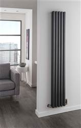 The Radiator Company Ellipsis Single Vertical Radiator
