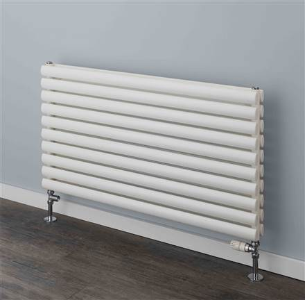 Warmrooms Elliptical Single and Double Horizontal Radiator