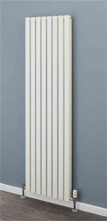 Warmrooms Elliptical Single and Double Vertical Radiator