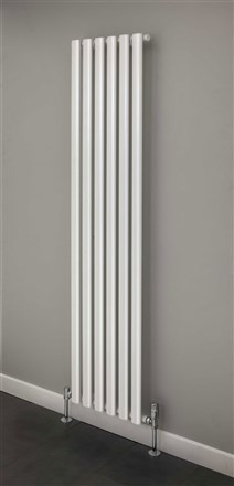 Elliptical Single and Double Vertical Radiator