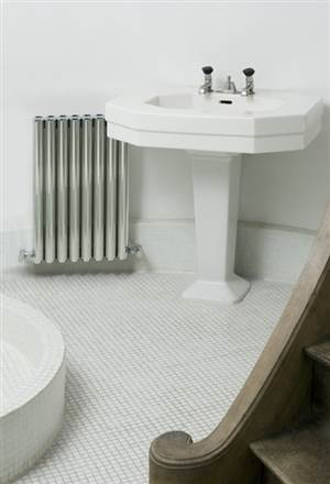 Eskimo Ron and Leggy Ron Polished Aluminium Radiator 200mm High