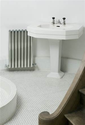 Eskimo Ron Polished Aluminium Radiator 1000mm High