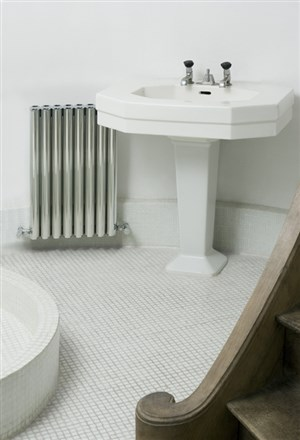 Eskimo Ron Matt Aluminium Radiator 1800mm High
