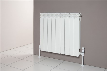 Faral Alba 95 Horizontal Aluminium Radiator 430mm High