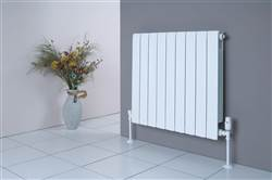Faral Alliance Horizontal Aluminium Radiator 430mm High