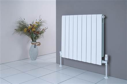 Faral Alliance Horizontal Aluminium Radiator 580mm High