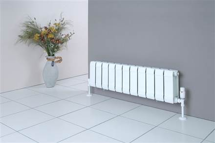 Faral Low Sill Flat Front Horizontal Radiator 392mm High
