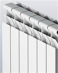 Faral Tropical 95 Plus Horizontal Aluminium Radiator 422mm High