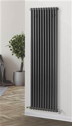 Warmrooms Vertical Column Radiator - Anthracite