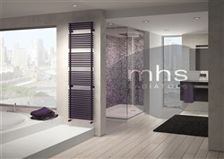 MHS Flauto Double Heated Towel Rail