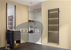 MHS Flauto Single Heated Towel Rail