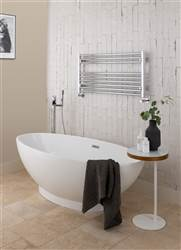 Vogue Focus Horizontal Wall Mounted Towel Rail MD001H