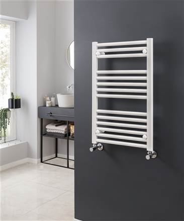 Vogue Focus Colours Wall Mounted Towel Rail MD001