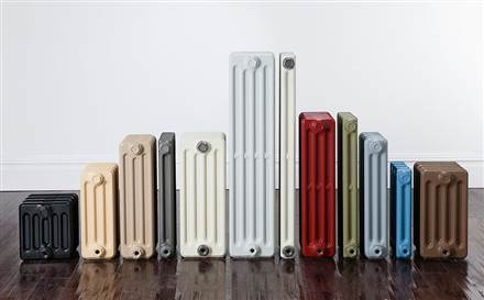 The Radiator Company Telford 3 Column Lacquered Cast Iron Radiator