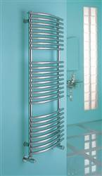 Myson Fulda chrome heated towel rail