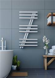 Apollo Garda Z Polished Stainless Steel Heated Towel Rail