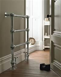 Vogue Grandeur Floor Mounted Heated Towel Rail LG032FW
