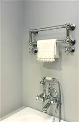 Vogue Hamlet Wall Mounted Traditional Towel Rail LG037