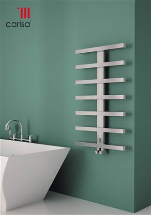 Carisa Herring Stainless Steel Designer Towel Rail