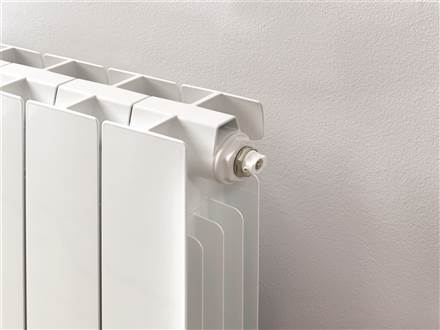 Warmrooms Greenrad Horizontal Aluminium Radiator 657mm High